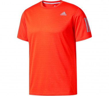 Adidas - Response Shortsleeve men's running top (orange)