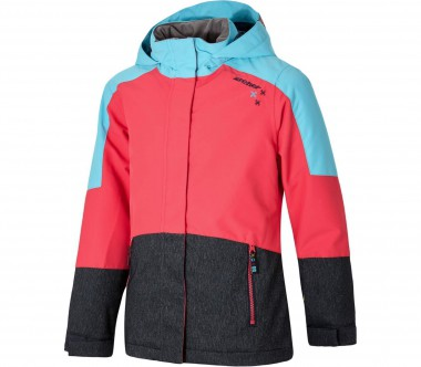 Ziener - Ablica Children ski jacket (blue/pink)