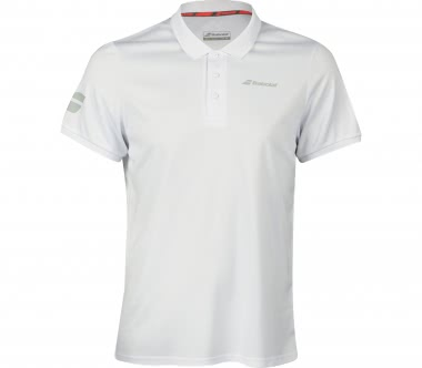 Babolat - Core men's tennis polo top (white)