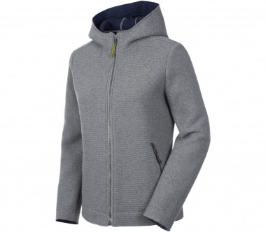 Salewa - Sarner 2L Full-Zip Hoody women's wool cardigan (dark grey)
