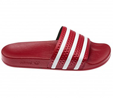 Adidas - Adilette women's training shoes (red/white)