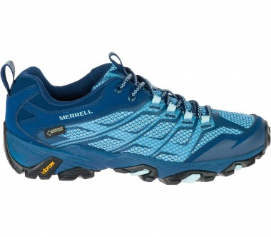 Merrell - Moab FST GTX women's hiking shoes (light blue/dark blue)
