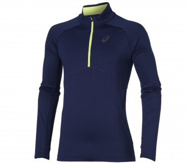 Asics - long-sleeved 1/2 Zip men's running top (dark blue)