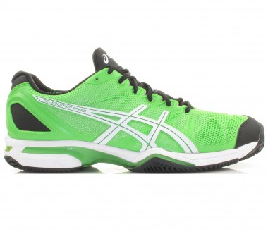 Asics - Gel Solution Speed Clay green/white/black - SS12 - Tennis - Tennis Shoes - Men