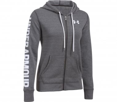 Under Armour - Favorite FZ women's fleece hoodie (grey)