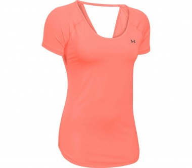 Under Armour - Heatgear Armour Coolswitch Shortsleeve women's training top (orange)