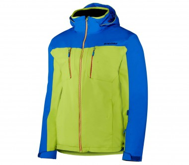 Ziener - Teedster men's ski jacket (blue/green)