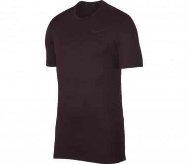 Nike - Breathe Training men's training top (dark red)