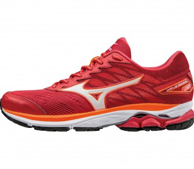 Mizuno - Wave Rider 20 women's running shoes (orange/white)