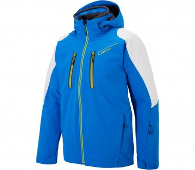 Ziener - Task men's ski jacket (blue/white)