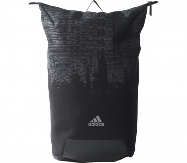 Adidas - Icon Knitted rucksack (black/grey)