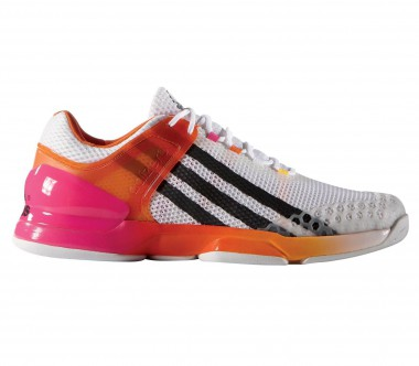 Adidas - Adizero Ubersonic men's tennis shoes (white/pink)