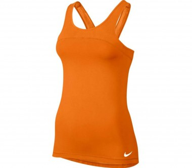 Nike - Pro Hypercool women's training tank top top (orange)