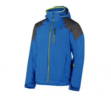 Ziener - Tactility men's ski jacket (blue/grey)