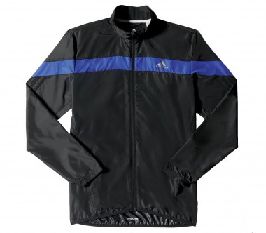 Adidas - Response Wind men's running jacket (black/blue)