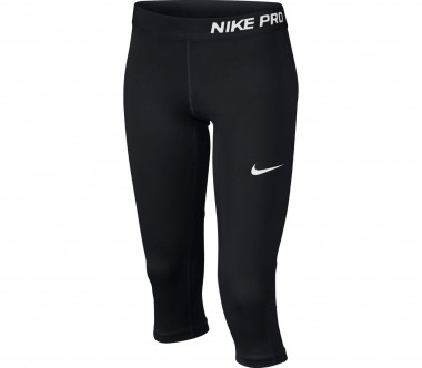 Nike - Pro Capripants children's training pants (black/white)