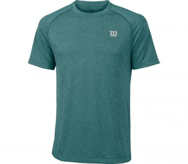 Wilson - Core Crew men's tennis top (green)