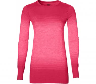 Asics - FuzeX Seamless women's running top (pink)