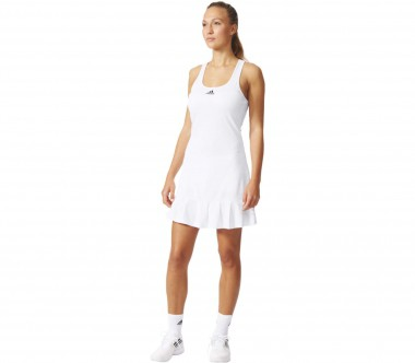 Adidas - Uncontrol Climachill women's tennis dress (white/black)