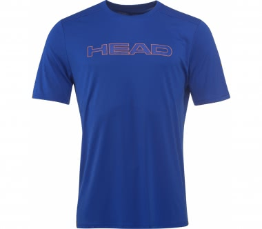 Head - Basic Tech men's tennis top (blue)