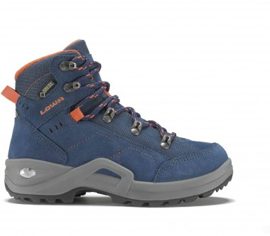 Lowa - Kody III GTX MID Children hiking shoes (blue/orange)