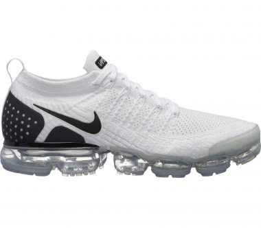 Nike - Air VaporMax Flyknit 2 men's running shoes (white/black)