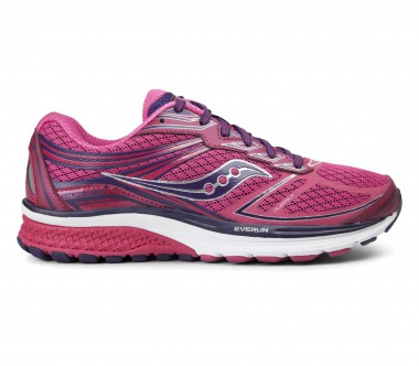 Saucony - Guide 9 women's running shoes (pink/purple)