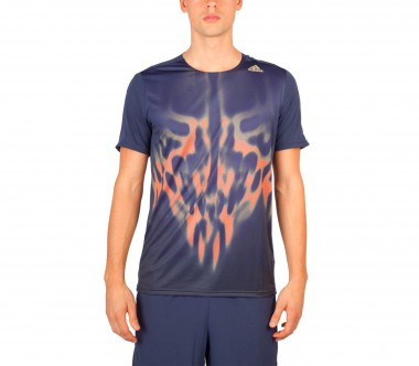 Adidas - Adizero Shortsleeve men's running top (dark blue)