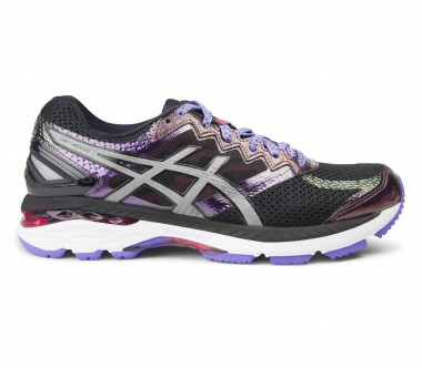 Asics - GT-2000 4 Lite-Show women's running shoes (black/silver)