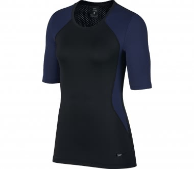 Nike - Pro HyperCool women's training top (dark blue/black)