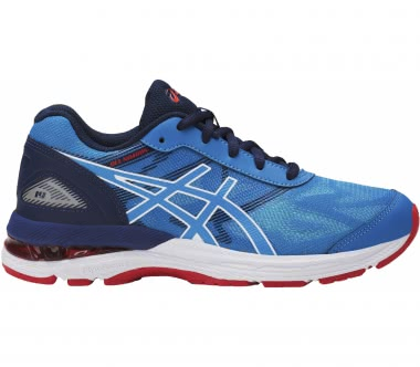 Asics - Gel-Nimbus 19 GS Children running shoes (blue/white)