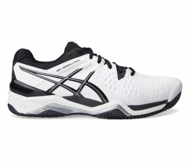 Asics - Gel-Resolution 6 Clay men's tennis shoes (black/white)