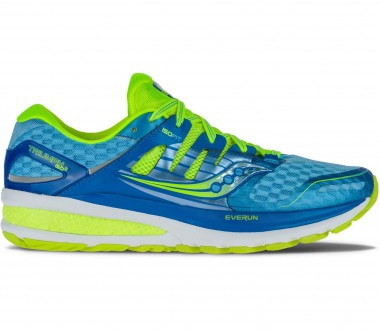 Saucony - Triumph ISO2 women's running shoes (light yellow/light blue)