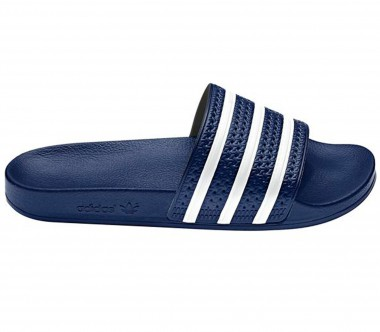 Adidas - Adilette men's training shoes (dark blue/white)