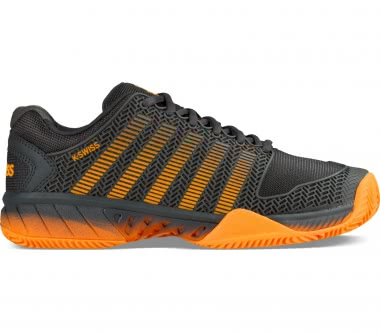 K-Swiss - Hypercourt Express men's tennis shoes (black/orange)