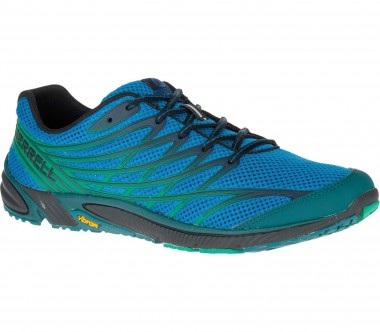 Merrell - Bare Access 4 men's trail running shoes (blue/green)