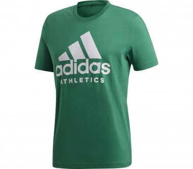 Adidas - SID Branded men's training top (dark green/white)