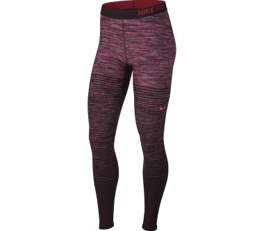 Nike - Pro HyperWarm women's training pants (purple/pink)