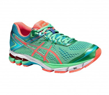 Asics - GT-1000 4 women's running shoes (mint/blue)