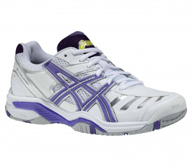 Asics - Gel-Challenger 9 women's tennis shoes (white/blue)