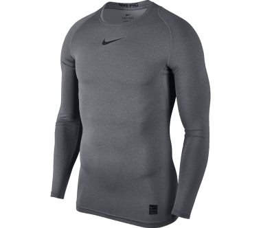 Nike - Pro long-sleeved men's training top (dark grey)