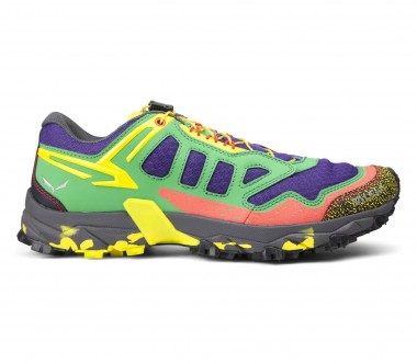Salewa - Ultra Train men's multi-sports shoes (green/yellow)