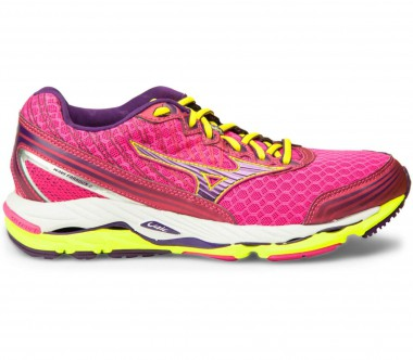 Mizuno - Wave Paradox 2 women's running shoes (pink/yellow)
