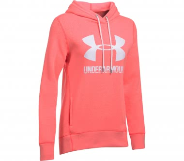 Under Armour - Favorite fleece women's fleece hoodie (red/white)
