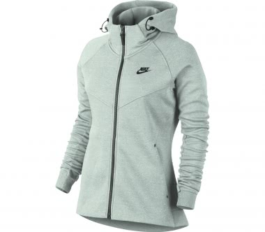 Nike - Sportswear Tech women's hooded fleece jacket (grey)