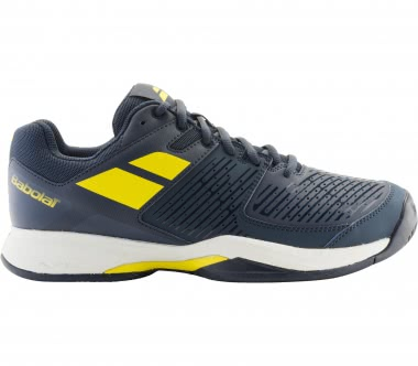 Babolat - Pulsion Clay men's tennis shoes (blue-yellow)