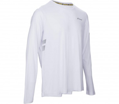Babolat - Core long-sleeved men's tennis top (white)