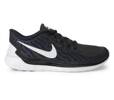 Nike - Free 5.0 women's running shoes (black/white)
