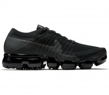 Nike - Air VaporMax Flyknit women's running shoes (black)