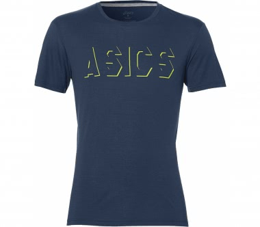 Asics - Logo men's training top (blue)